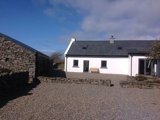 Pollclabber Cottage, near Doolin, Cliffs of Moher and the Wild Atlantic way