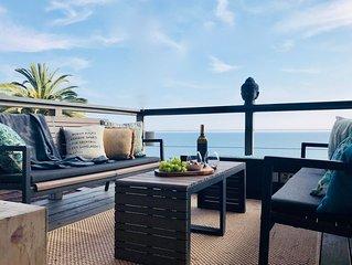 Romantic Ocean View House - 5 minute walk to Porto Marina Beach