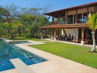 Luxury Oceanfront Home-the best beach view in Hacienda Pinilla