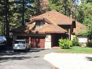 Spacious Incline Village Home - Perfect for Big Families!
