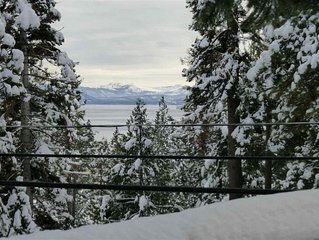 Fat Cat Cabin - lake views/short walk to Commons Beach and downtown Tahoe City