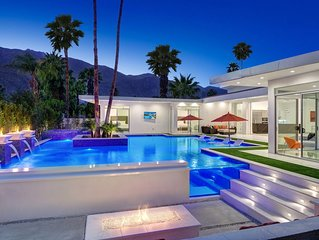 Brand New Palm Springs Luxury Dream Resort Pool, 5BE 5.5 BA, walk to downtown PS