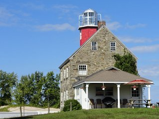 Historic 1838 Salmon River Lighthouse - Monthly Open Houses Now Available!