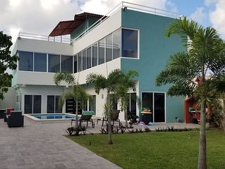 Spacious newly remodeled Villa in Cancun