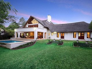 Magnificent luxury home, ideal for work or leisure. ALL Amenities Included