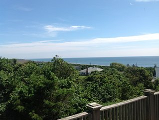 Beautiful Hither Hills Home, Endless Ocean Views, Steps to the Beach