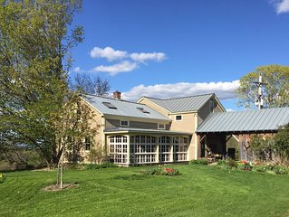 Charming Old Vermont Farmhouse: Weekly Rental