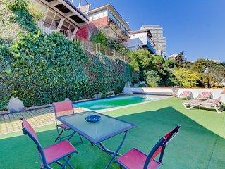 Depto con piscina en la terraza, hermosa vista - Apt with pool on the terrace