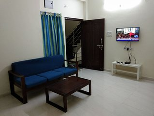 2 Bedroom Apartment near Basavatarakam Indo American Cancer Hospital.