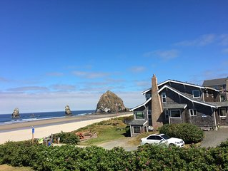 Ocean Front Home in Cannon Beach, Oregon.
