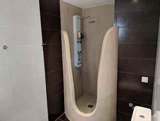 Renovated , luxury bath, beautiful back yard!