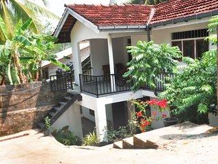 Holiday Villa Unawatuna Galle - 2.4 km from Japanese Peace Pagoda- Aircon-WiFi