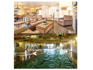 Golf Resort Condo ~  Running Y ~2 Bed/2 Bath  (Sleeps 6) ~Pool~Hot Tub