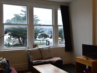 Great Location The Bay House is locate opposite the beach and is only a