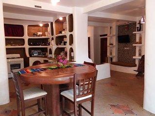 A Rustic Spanish, Adobe Style, Poolside Three Bedroom Villa