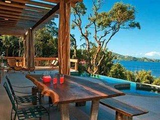 Casa Top!Com vista paradisiaca do Mar e Lagoa da Conceicao, arquitetura unica!