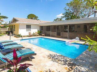 Awesome 4 bed/3bath home just 1 mile from Beach