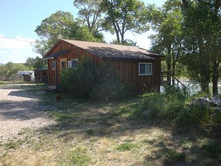 Rustler's Roost Guest House, 15 mi. SW of Cody, WY.  We love pets! No charge!