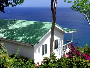 AMAZING SEA VIEWS, Private Cottage, Ocean View, Paradise Pool, 5 star reviews