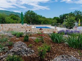 Villa in Dalmatia with the swimmingpool