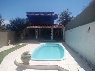 Casa para temporada Cond. Aguas de Olivenca, 60 mts praia - Ilheus-Ba