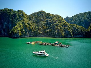 Jeanneau Leader 36 Yacht Charter - Vietyacht Marina Club Halong Bay Cruise