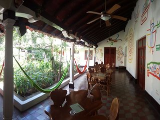 NOSOTROS HOSTEL, WHERE YOU WILL FEEL AT HOME IN GRANADA, NICARAGUA