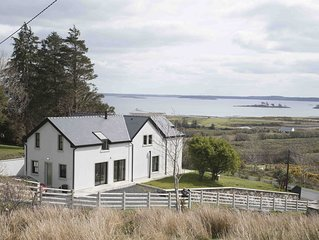 Luxurious 3 bed home high above  Lough Mask