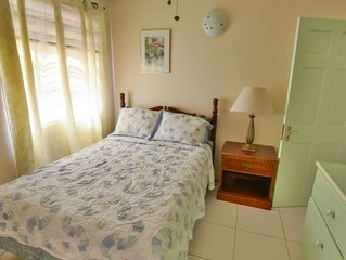 Secret Home Away Suite Nestled in Lush Vegetation & Close to La Sagesse Beach