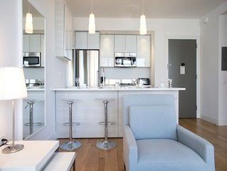 Midtown West George: 1  BR, 1  BA Apartment in New York, Sleeps 4