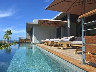 Modern Villa, Amazing Ocean Views, 15 Meters Infinity Pool, Alfresco Dining, Fre