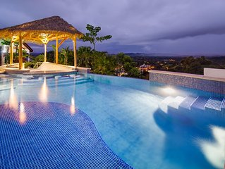 NEW LISTING, Amazing Hillside Home, Newly Renovated with Private Infinity Pool