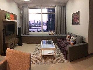 Apartment 3 bedrooms view Saigon River