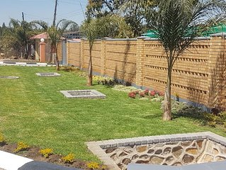 Welcome to Harris Apartments come enjoy our 2 Bedroomed furnished garden flats