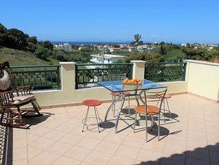 Villa IRENA with sea view.