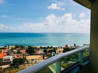 O mais próximo Beira mar em PONTA NEGRA. Excelente conforto e Localização,Wi-Fi.