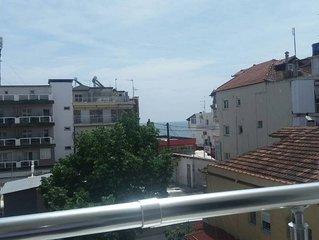 Nice apartment in Paralia
