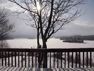 Spectacular cottage chalet 1.5 hours from Ottawa.