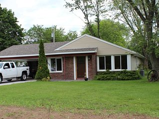 Comfy, Cozy Single Family  Ranch Home Close To The Falls