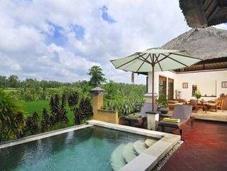 romantic 1bedroom pool villa ubud