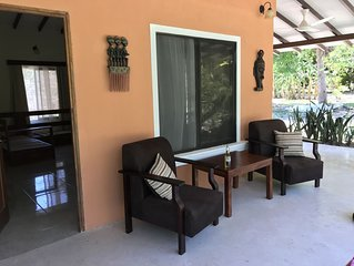 Rest and rejuvenate in the heart of Costa Rica in our modern 2 Bedroom House