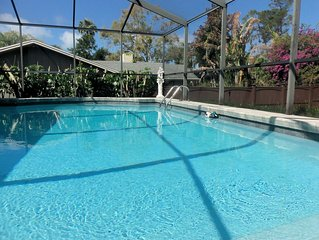 Completely Renovated **New Furnishings**  Private Heated Pool Home - Wonderful