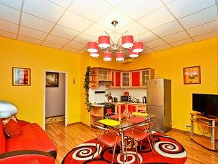 Unique Two-level  Deluxe Nevsky suite