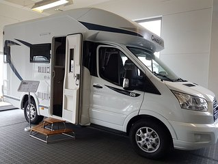 brand new motorhome in malmö city