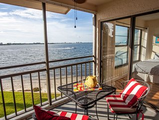 Amazing water views! Near beaches, big pool & spa!