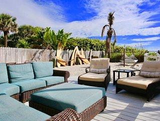 Wow! Private Beachfront Backyard w/Views Galore