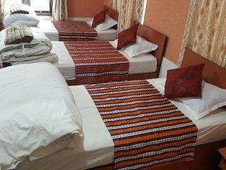 Budget hostel in Thamel,Kathmandu