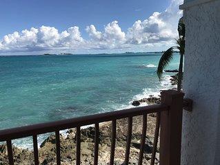 Cozy Ocean Front Vacation Condo