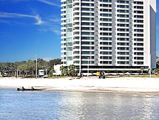 MARCH Snowbird Special ~  Affordable LUXURY Biloxi Beach Condo next to Casino
