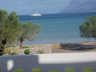Waterfront Apartment  20 meters from the  sea